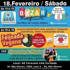 #Eventos #veganos – #Bazar #beneficente em prol da #causa #animal