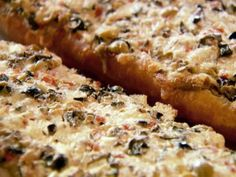 Olive Cheese Bread Recipe : Ree Drummond : Food Network