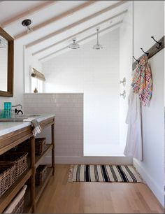 Benn Watts' Montauk home loo in finished attic space