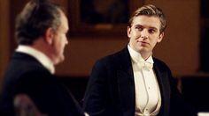 Dan Stevens as Matthew Crawley in Downton Abbey. Swoon!