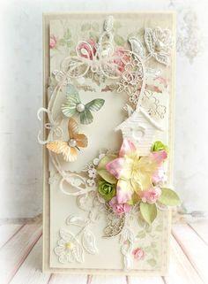 A spring card by Mariusz using the Paris Flea Market collection