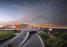 Arquitetos Zaha Hadid, Architectes Zaha Hadid, Zaha Hadid Architects, Zaha Hadid Design, Beijing, Futuristic Architecture, Architecture Design, Building Architecture, China Architecture