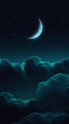 Teal Wallpaper Iphone, Iphone Wallpaper Images, Night Sky Wallpaper, Cloud Wallpaper, Green Wallpaper, Scenery Wallpaper, Dark Wallpaper, Nature Wallpaper, Iphone Wallpapers
