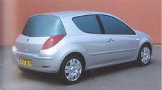 OG | 2005 Renault Clio Mk3 - X85 | Full-size clay mock-up