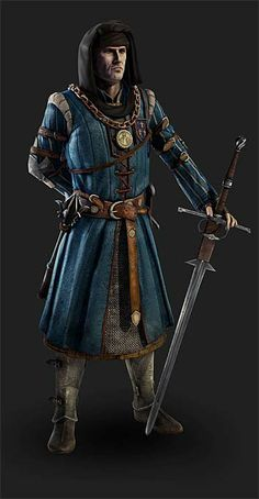 Pixologic ZBrush Gallery: The Witcher 2 Assasins of Kings models