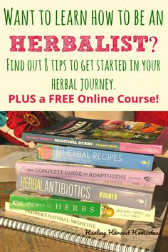 Natural Holistic Remedies Do you want to become an herbalist? Here are 8 tips to get you started on your herbal plant medicine journey. I wish I had this advice many years ago when I was beginning to learn about herbs, health Natural Home Remedies, Natural Healing, Herbal Remedies, Health Remedies, Holistic Remedies, Natural Oil, Natural Herbs, Holistic Healing, Herbal Plants