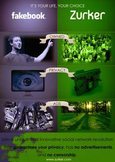 Facebook vs Zurker