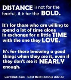 Long distance relationship quotes-for when you're feeling like giving up