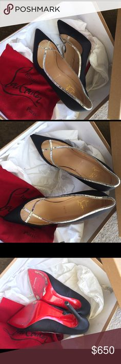 Brand new CL I have wore this item once they are size 37 Christian Louboutin Shoes Heels
