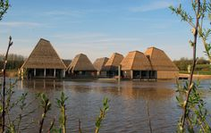 Brockholes, England: floating visitor centre