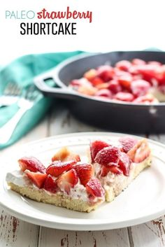 Paleo Strawberry Shortcake! This is so unbelievably good and simple too!