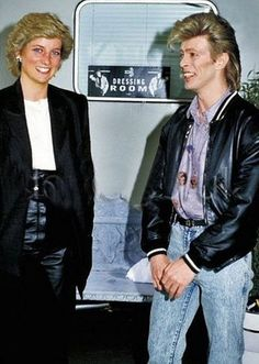 Princess Diana Meeting David Bowie