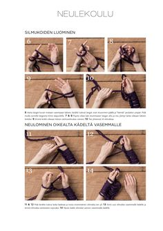 Armknitting-huivi Novita Pehmo tai Novita Kiille | Novita knits