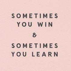 PIN ➕ INSTA: @sophiekateloves ✔️ Keep winning, keep learning