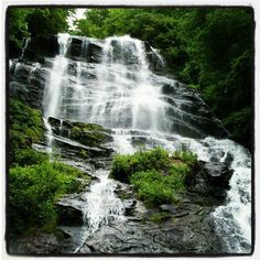 """Did you know that Amicalola  means """"tumbling waters"""" in Cherokee? Click the photo to learn more about Amicalola Falls state park in Dawsonville, Ga."""