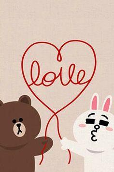naver corp. messenger line / LOVE
