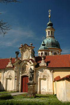 Česko, Praha - Kostel P.Marie Vítězné