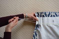 die 236 besten bilder von gardinen n hen sewing curtains curtains und dressmaking. Black Bedroom Furniture Sets. Home Design Ideas