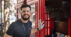 World's smallest mobile phone repair shop opens inside iconic red telephone box