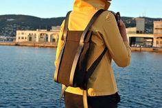 Small backpack purse mini canvas backpack tiny minimalist