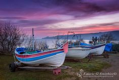 Runswick Bay Boats - The North Yorkshire Gallery Robin Hoods Bay, Bay Boats, Running On The Beach, Old Norse, Red Roof, Fishing Villages, North Yorkshire, East Coast, Seaside