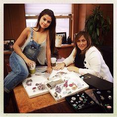 Selena Gomez & Lorraine Schwarts