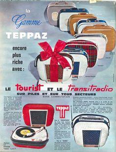 Teppaz: le Tourist et le Transitradio - Jours de France n°502, 27 juin 1964