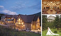 Della Terra Mountain Chateau Estes Park Colorado Wedding Reception Site � Estes Park CO Wedding Reception