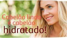cabelão lindo é cabelão hidratado! mais mulher loira, de olhos azuis, sorrindo