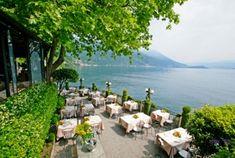 Ristorante Crotto dei Platani: elegant romantic dining spot, lake como, italy