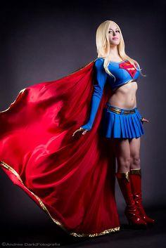 action comics cosplay supergirl by mexican cosplayer nadyasonika aka nadya anton 1