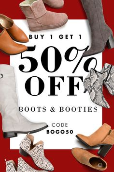 Pass the savings! 🦃 Take off your second pair of boots or booties Wide Calf Boots, Ankle Boots, Relaxed Outfit, Email Design, Calves, Bootie Boots, Fashion Shoes, Kitten Heels, Lace Up