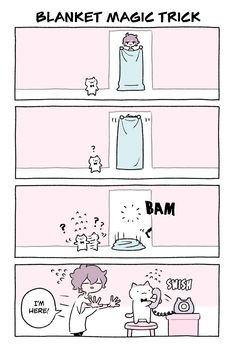 Wonder Cat Kyuu-chan Vol. Cat Comics, Funny Comics, Stupid Funny Memes, Funny Relatable Memes, Funny Cute, Hilarious, Beste Comics, Funny Animals, Cute Animals