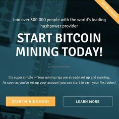 GENESIS-MINING is a well-established X11 Ethereum and Bitcoin cloud mining provider since 2013. They are the largest Bitcoin cloud mining provider and furthermore are now offering Ethereum/X11 mining contracts as well. All their bitcoin contracts are LIFETIME Contracts which is a big plus! Currently they have 3 undisclosed locations in Europe America and Asia. They represent their service on all the important Bitcoin conferences / events and are more transparent than any cloud mining…