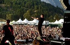 Billy Talent owns the crowd during Pemberton Music Festival at Sunstone Ranch in Pemberton, BC, Canada, July 16. (Rob Loud) #BillyTalent