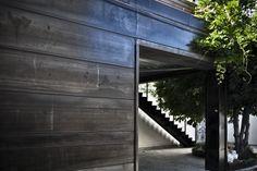 Corten, garden, porch, courtyard, staircase Ph. Paolo Contratti, styling Scilla Mantovani