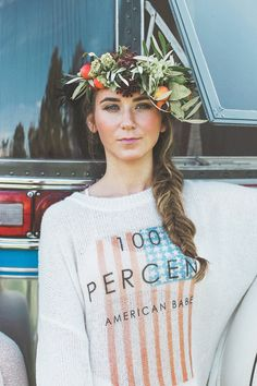 Fall look book for Winds of Change and Gypsy Sole. Photography by Christie Lanzilotti Flower Crowns by Molly Taylor & Co.