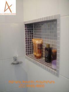 nichos no box do banheiro - Pesquisa Google