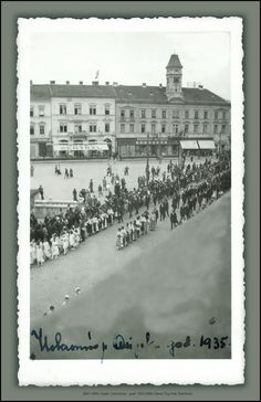 5680 AMN Port of Rijeka Croatia Unknown people and date Ship Opatija and palace Jugolonija cca 1. V. 1959.