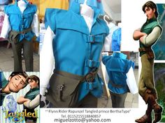 Flynn Rider Rapunzel Tangled prince charming disney halloween gown boy graduation knight king party pageant medieval lord costume