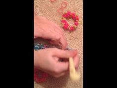 ▶ Rose Garden Rainbow Loom bracelet