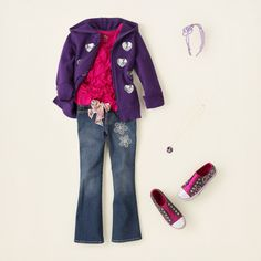 girl - outfits - big on boho - heart attract   Children's Clothing   Kids Clothes   The Children's Place