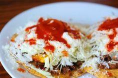 honduran enchiladas!