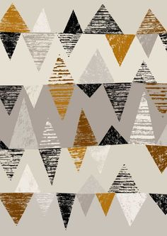 absoslutely love this print, it's so me! Geometry No. 4, Eloise Renouf