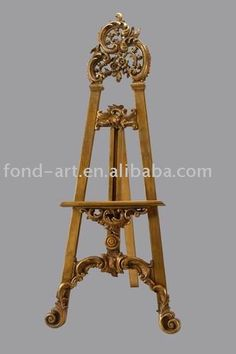 Painting easel,oil painting holder,PU painting display easel