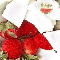 Temporada de fresas y coco 100% BIO