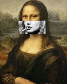 [New] The 10 Best Art (with Pictures) - Smoking Mona Lisa. (New) The 10 Best Art (with Pictures) - Smoking Mona Lisa. Iphone Wallpaper Tumblr Aesthetic, Aesthetic Pastel Wallpaper, Aesthetic Art, Aesthetic Pictures, Monalisa Wallpaper, Mona Lisa Parody, Type Illustration, Principles Of Art, Surreal Art