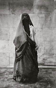 "mediterraneum: "" Native woman. Cairo, Egypt. 1860-1890 """