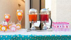 Pink & Orange Garden Tea Party - Kuwait Theme Unique Party Ideas  