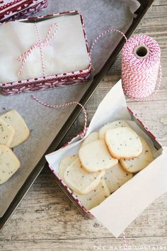 These honey lavender shortbread cookies are rich and buttery, and unique and flavorful!